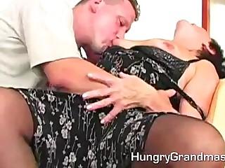 Slutty Hairy Granny Carla