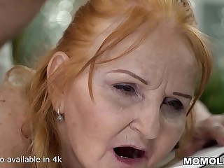 Mature Sexy GILF Marianne Drilled by Young Massage Psychoanalyst