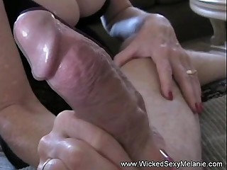 Mommy Worships The brush Son's Cock