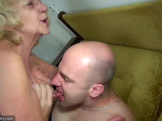 OldNanny mature increased by granny ladies carnal knowledge compilation
