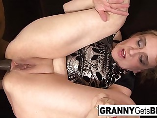 Amazing compilation be worthwhile for grannies geting fucked off out of one's mind black cocks