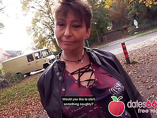 UGLY and OLD - MILF, almost GRANNY public fuck & hardly any regrets Rubina dates66.com
