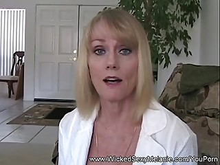 Step Mom Teaches Lass About Sex