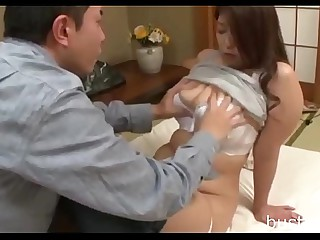 Chubby Japanese Mom - Requirement ready bustxxx.net for more boobs video